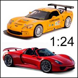 Die-cast Cars 1:24 Scale