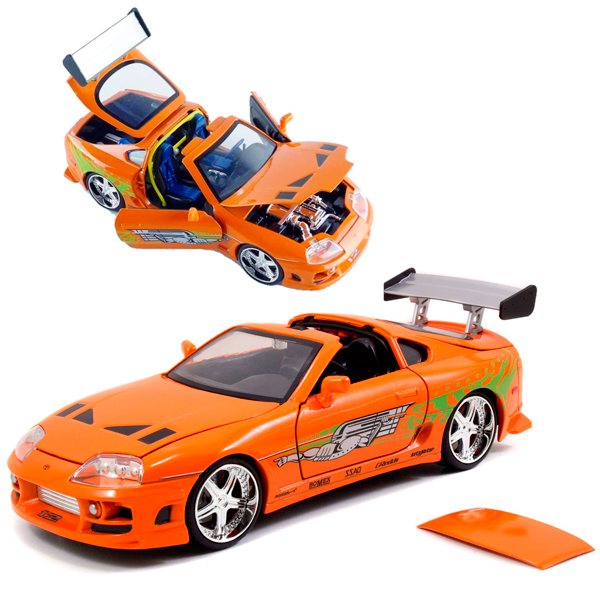 Brian's Toyota Supra from Fast & Furious