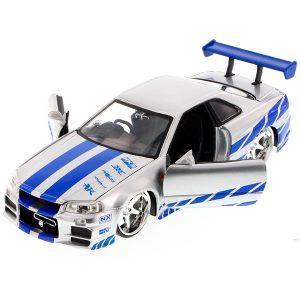 Jada Brian's Nissan Skyline - Fast & Furious Series - 1/24 Scale Model