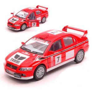 Kinsmart Mitsubishi Lancer Evolution VII WRC