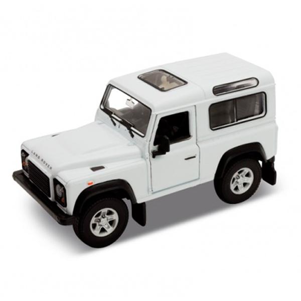 Welly NEX Land Rover Defender White