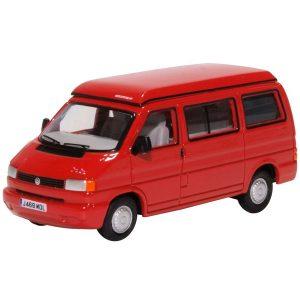 Oxford Diecast VW T4 Westfalia Camper Paprika Red