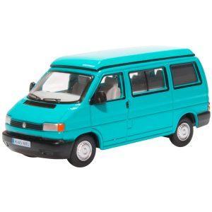 Oxford Diecast VW T4 Westfalia Camper Caribbean Green