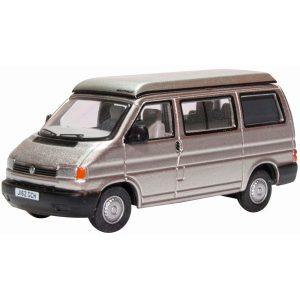 Oxford Diecast VW T4 Westfalia Camper Silver Grey