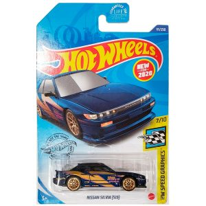 Nissan Silvia S13 in Blue from the HW Speed Graphics collection